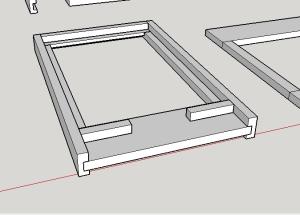 8 Frame, IPM Screened Bottom Board