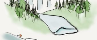 Urban Glaciers: In a world where glaciers are disappearing, could Northern Cities build them from scratch? A look at what to do with all of that snow.