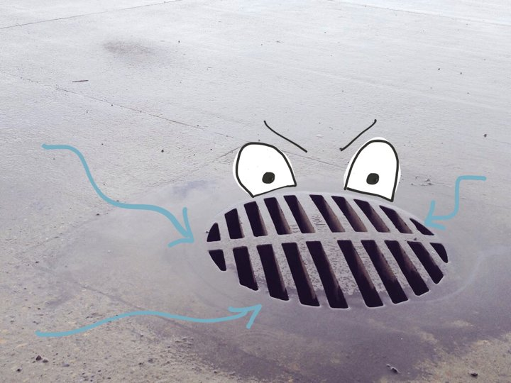 The drain monster is eating your potential.