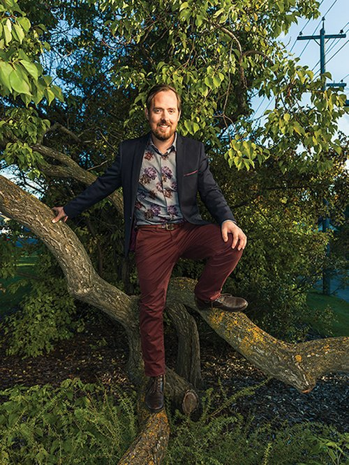 Dustin Bajer, Avenue Magazine, Edmonton Top 40 Under 40 YEG